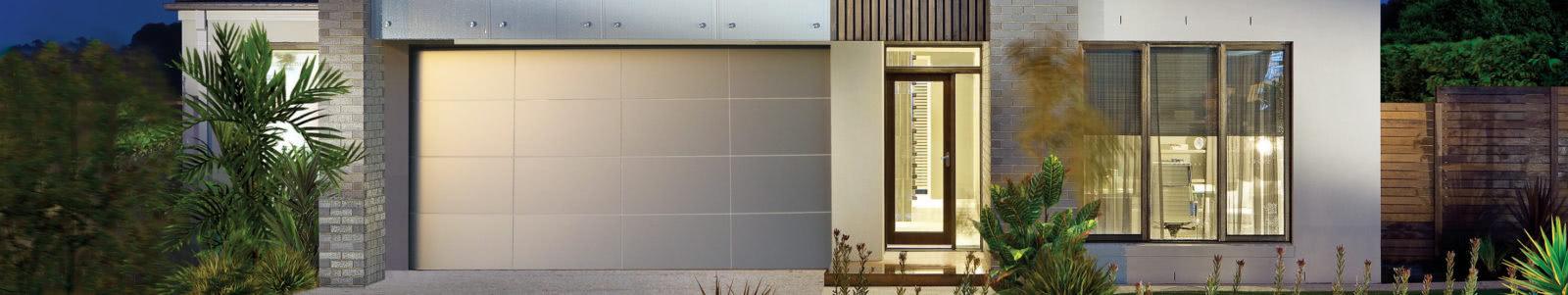 Aluminium Comp Garage Door Banner Steel Line Garage Doors