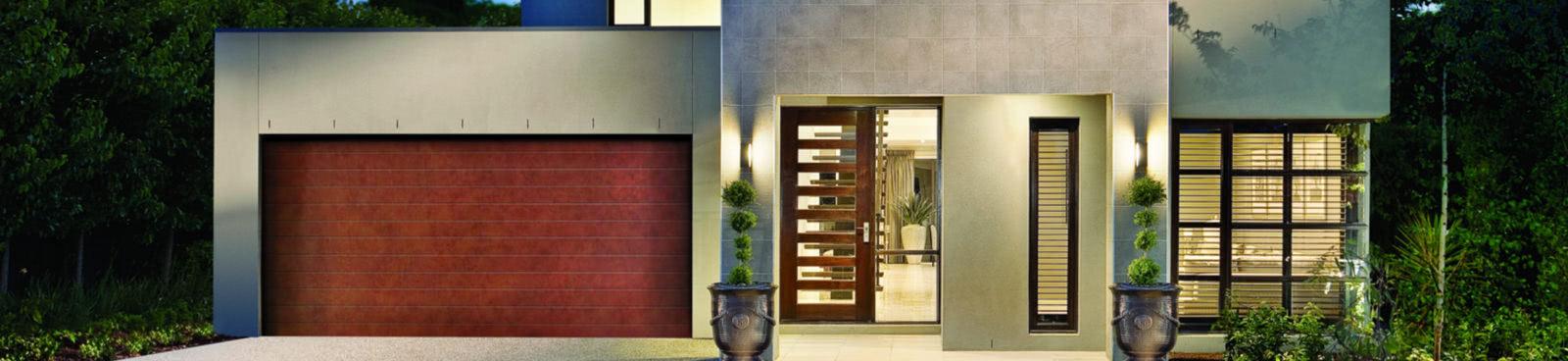 Decovogue Garage Door Banner Steel Line Garage Doors