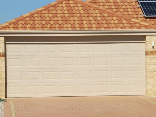 Colorbond 174 Garage Door Heritage Profile Classic Cream