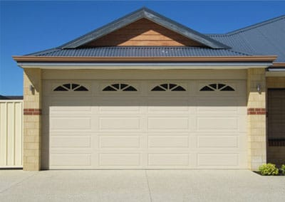 Colorbond® Garage Door - Ranch profile, Classic Cream colour