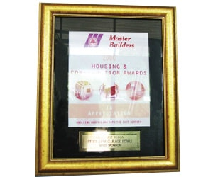 Master builder award