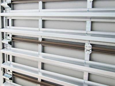 Cyclone Garage Doors Steel Line