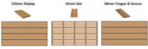 biowood garage door profiles