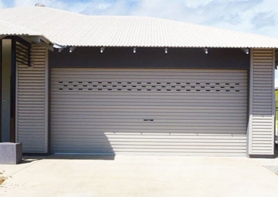 Perforated Roller Door