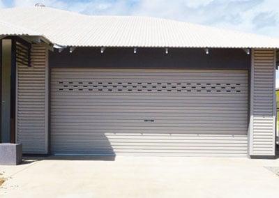 & Perforated Roller Door