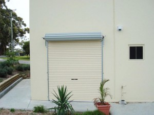 Roller Door - Reversed Installation
