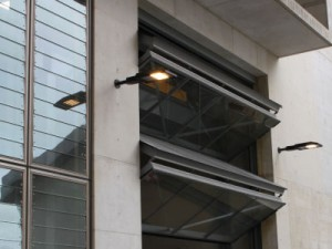 SC4000 Four-Leaf Foldaway Counterweight Balanced Door
