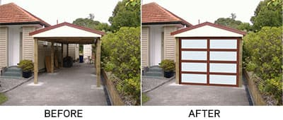 How To Convert Your Carport Into A Garage Stell Line