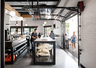 Laika Coffee Shop Sees the Light | WA