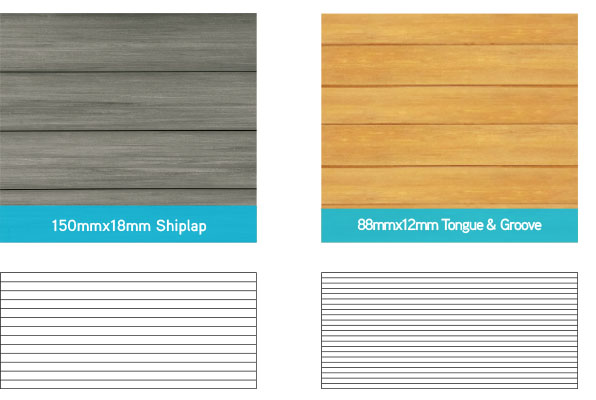 biowood garage door profiles