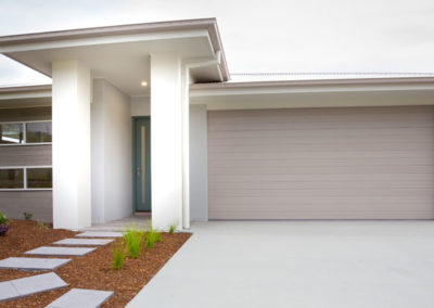 Colorbond Sectional Garage Door - Slimline Profile, Dune