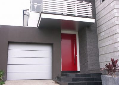 Model ALUCO_8002 Alucobond tilting door