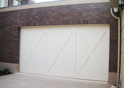 plywood tilt door