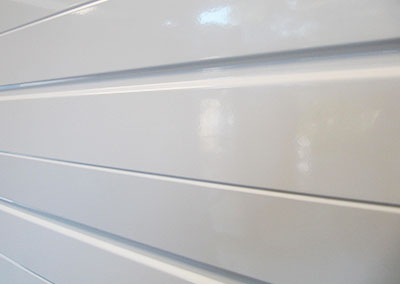 smooth finish garage door