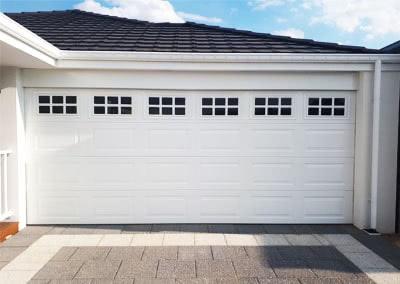 Heritage garage door