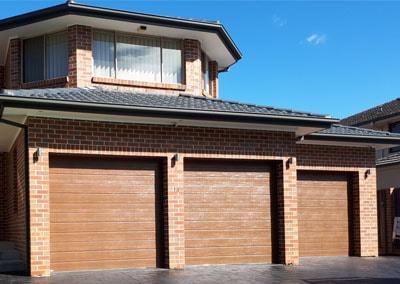 Colorbond Timber Look Door | Sydney