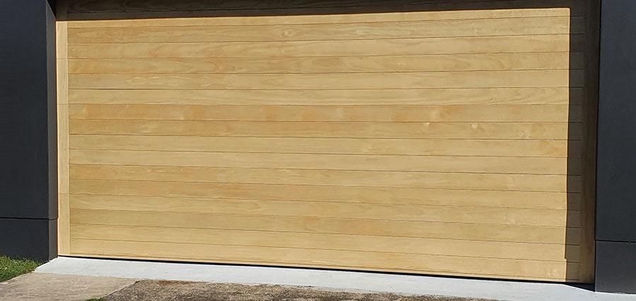 cladding garage door gold coast