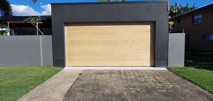 cladding garage door